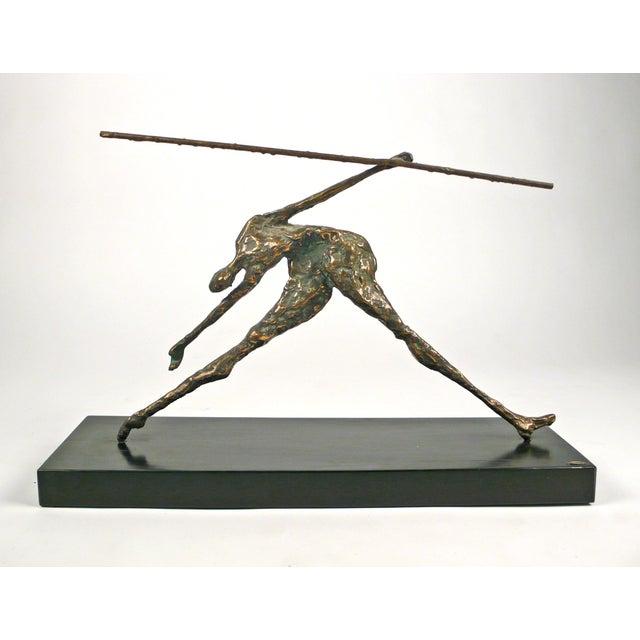 Modern Jere Bronze Figural Sculpture For Sale - Image 3 of 8