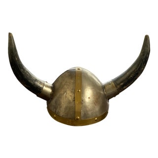 Early 20th Century Viking Helmut For Sale