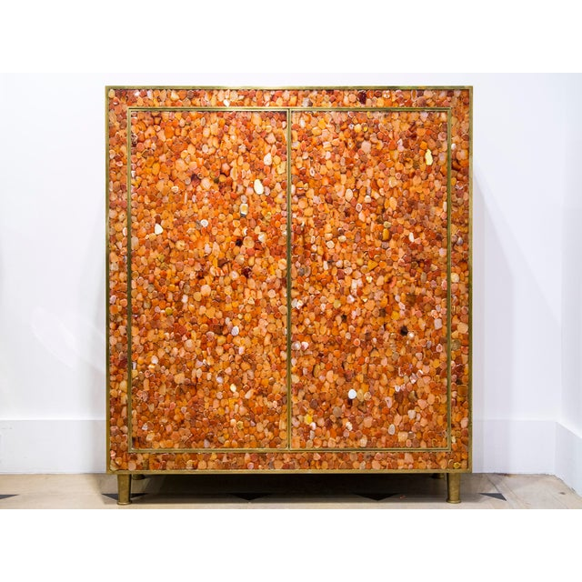 Kam Tin - Cabinet Covered With Agate Gemstone, France, 2012 For Sale - Image 6 of 6