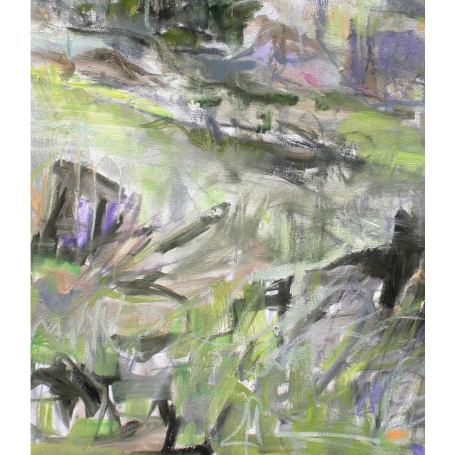 """Alpine Spring"" Abstract Painting by Trixie Pitts - Image 3 of 3"