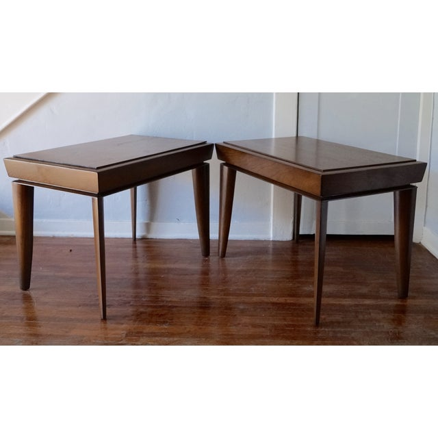 Mid-Century Designer Paul Lazlo End Tables - Pair - Image 2 of 7