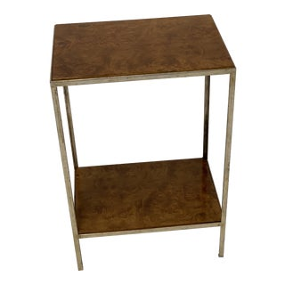 Contemporary Kerry Joyce Occasional 2-Tier Side Table For Sale