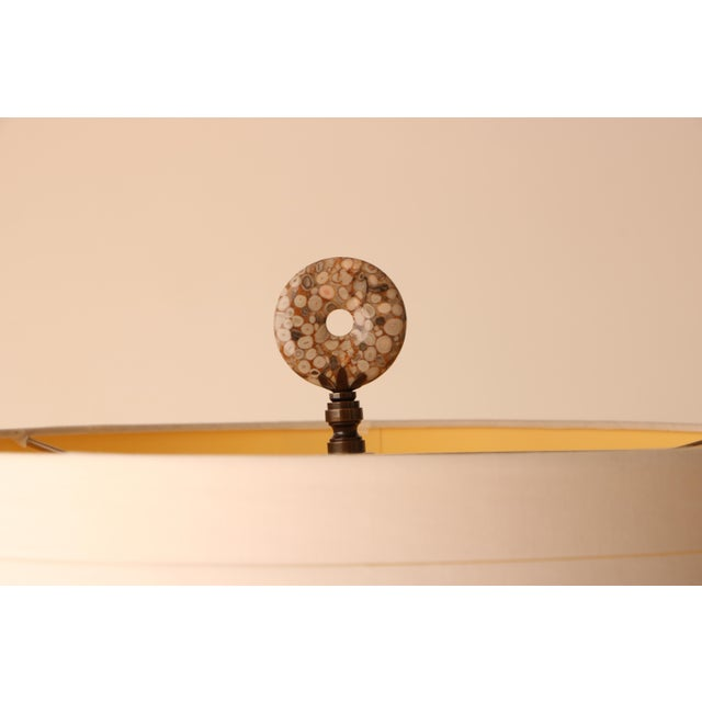 Haeger Drip Glazed Table Lamp - Image 6 of 7