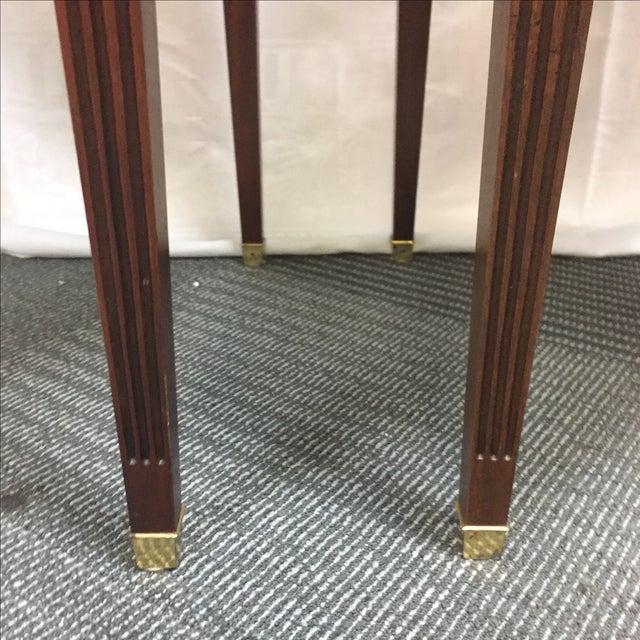 Baker Furniture Company Baker Drop Leaf Side Tables - Pair For Sale - Image 4 of 8