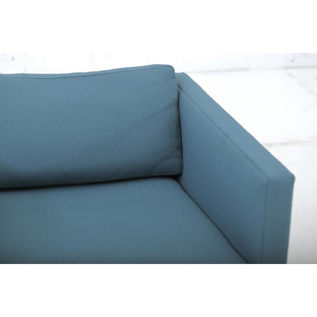 Green Harvey Probber Tuxedo Lounge Chair For Sale - Image 8 of 11