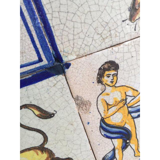 1960s Framed Mid-Century Modern Zodiac Tiles For Sale - Image 5 of 8