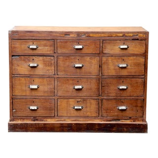 British Colonial Chest of Drawers