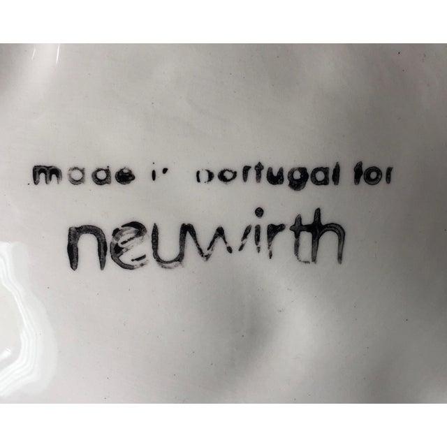 Ceramic Neuwirth Artichoke Double Serving Dish-1980's For Sale - Image 7 of 10