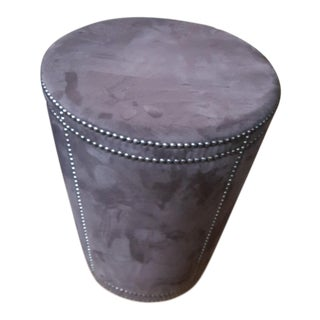 Bernhart Pomona Ottoman Tapered Cylinder With Nailheads For Sale