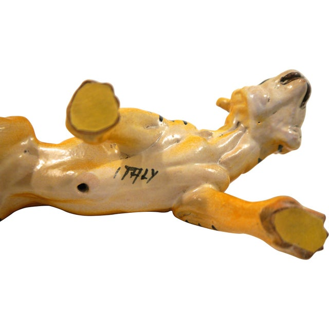 1950's Ceramic Italian Tiger - Image 6 of 6
