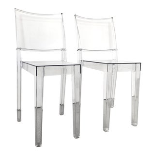 Kartell La Marie Ghost Chairs - a Pair For Sale