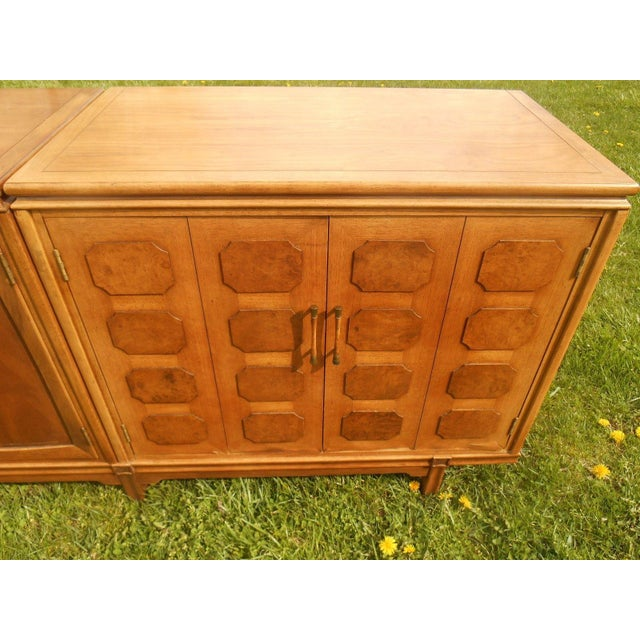 Thomasville Mid-Century Modern Floating Credenza - Image 4 of 7