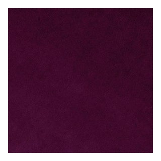 Mulberry Berry Velvet Fabric - 1 Yard For Sale