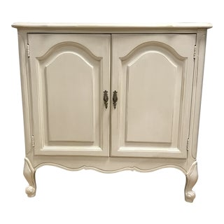 1960's Vintage French Provincial Style Cabinet For Sale