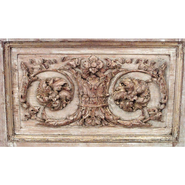 French Regency Style Armoire Cabinet For Sale - Image 4 of 7