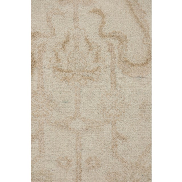 """Islamic Oushak Hand Knotted Area Rug - 5'1"""" X 7'4"""" For Sale - Image 3 of 3"""