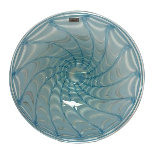Waterford Evolution Aqua Art Glass Bowl - Image 1 of 8