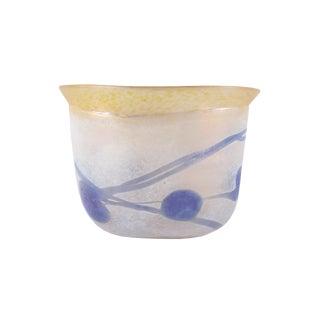 "Bertil Vallien Boda Artist Collection Swedish ""Galaxy"" Glass Vase For Sale"