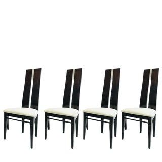Set of Four Costantini Dining Chairs For Sale