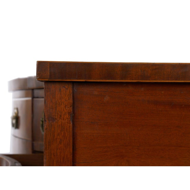Circa 1780 English George III Period Antique Mahogany Sideboard For Sale - Image 9 of 11