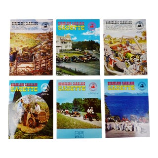 Horseless Carriage Gazette Magazines - 1969 Full Year - Collectible