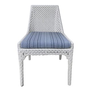 Century Furniture Outdoor Tangier Dining Side Chair For Sale