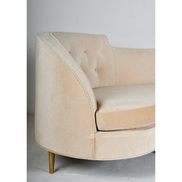 Mid-Century Modern Oasis Sofa by Wormley for Dunbar For Sale - Image 3 of 13
