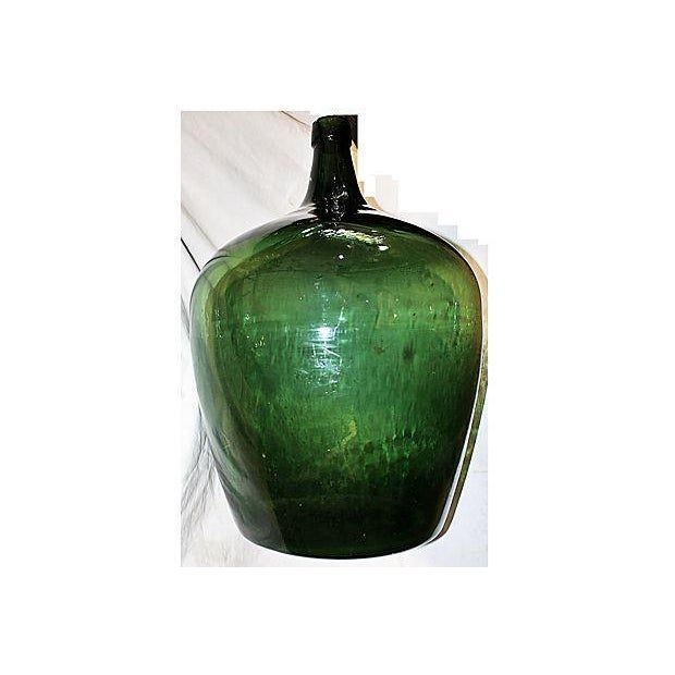 Antique French Demijohn Bottle For Sale - Image 4 of 6