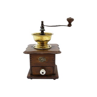 1940s French Coffee Grinder For Sale