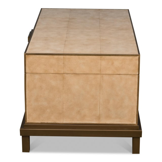 Transitional Sarreid Milton Coffee Table For Sale - Image 3 of 8