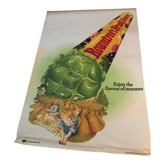 English Rowntree's Fruit Gums Poster For Sale