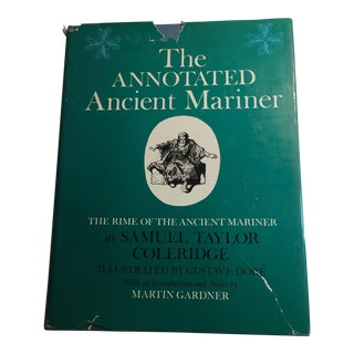 """""""The Annotated Ancient Mariner"""" 1975 Book For Sale"""