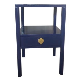 1950's Landstrom Furniture High Gloss Nightstand For Sale