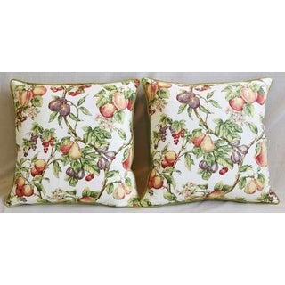 "P. Kaufmann Bountiful Fruit Feather/Down Pillows 24"" Square - Pair Preview"