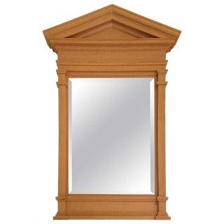 John Saladino Pediment Mirror For Sale