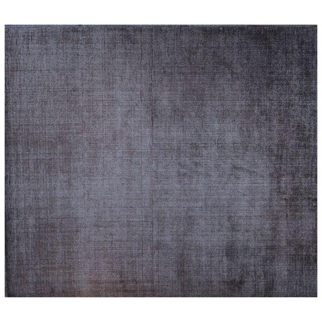 Stark Studio Rugs Contemporary New Oriental Indo Tibetan Wool Rug - 8′ × 9′5″ For Sale