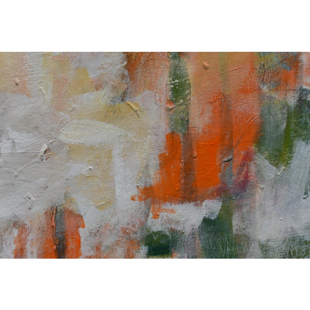 """2010s Modern """"Hunters in the Snow"""" Abstract Painting by Stephen Remick For Sale - Image 5 of 13"""