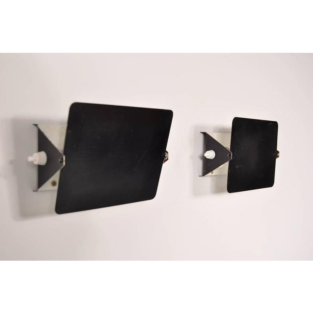 Pair of Charlotte Perriand CP1 Wall Sconces for Steph Simon, France, circa 1960 - Image 5 of 7