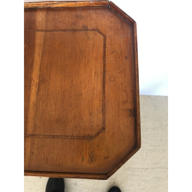 19th Century Biedermeier Side Table or Stand For Sale - Image 9 of 12