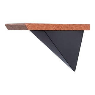Tortuga Mounted Pyramid Shelf - 2 Pieces For Sale