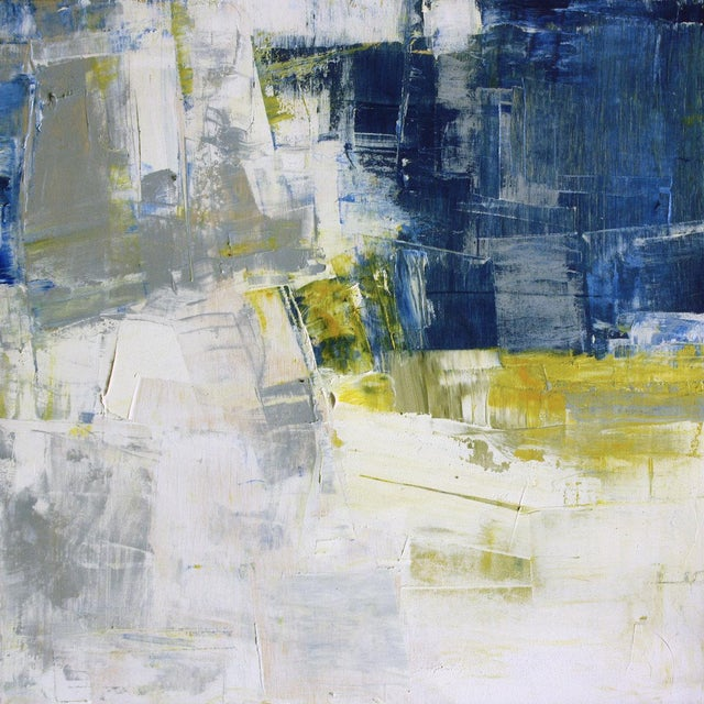 Paul Ashby Abstract Modern Square Oil Painting - Image 1 of 4