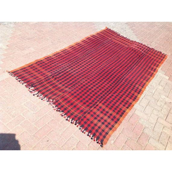 Vintage Hand Made Throw Blanket Chairish