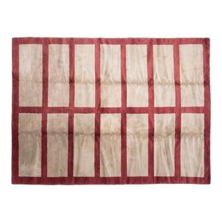 """Riverwoods"" Tibetan Woven Carpet For Sale"