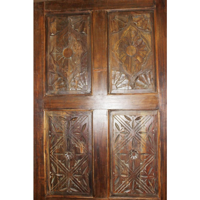 Rustic 19th Century Antique Carved Door For Sale - Image 3 of 6