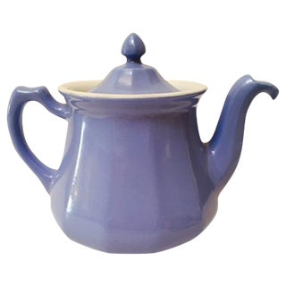 Vintage Tricolator Blue Tea/Coffee Pot