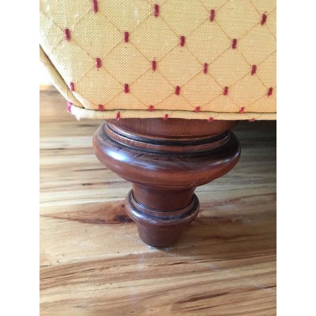 Calico Corners Custom Single Cushion Sofa & Pillows - Image 3 of 6