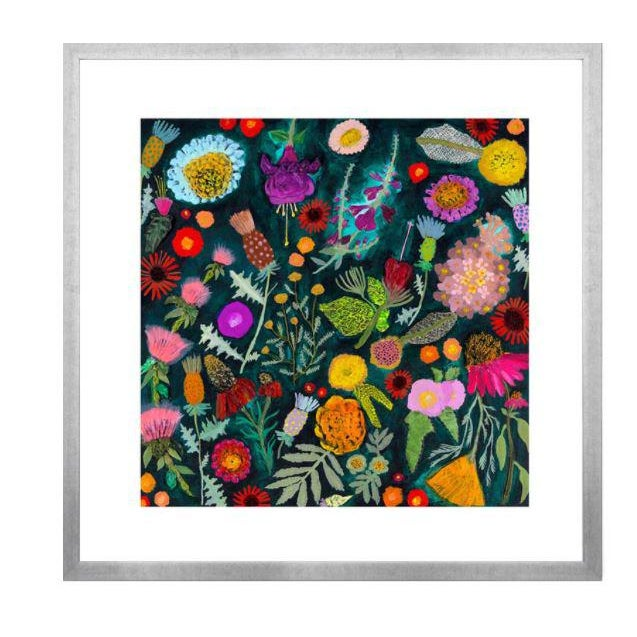Kenneth Ludwig Chicago Wildflowers Garden Print by Eli Hilpin For Sale - Image 4 of 4