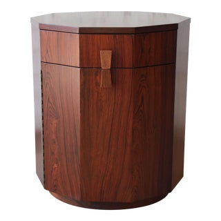 Harvey Probber Mid-Century Modern Rosewood Dry Bar Cabinet For Sale