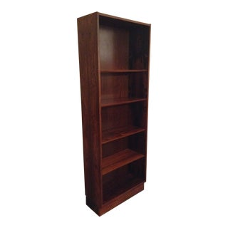 1970's Vintage Poul Hundevad Rosewood Bookshelf For Sale