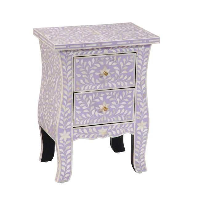 Life is but a dream with this two drawer Imperial Beauty bedside table. Evoking the majestic beauty of the British Raj,...